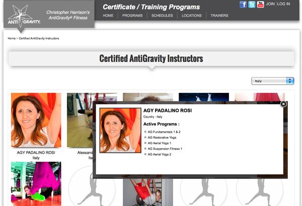 Certificazioni Antigravity Rosi Padalino